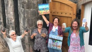 Devon Open Studios at Homeyards @ The Castle, Homeyards Botanical Gardens